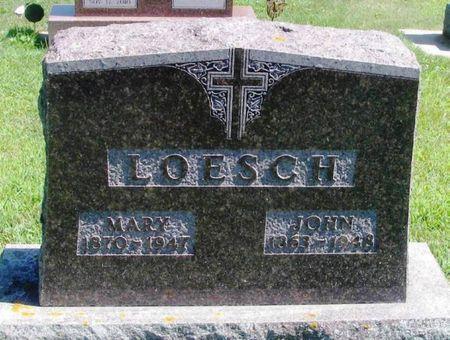 LOESCH, JOHN - Winneshiek County, Iowa   JOHN LOESCH