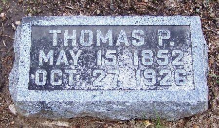 LOGSDON, THOMAS P. - Winneshiek County, Iowa | THOMAS P. LOGSDON