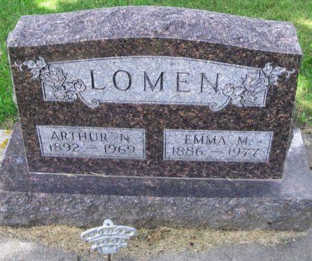 LOMEN, EMMA M. - Winneshiek County, Iowa | EMMA M. LOMEN