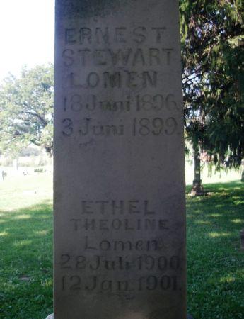 LOMEN, ETHEL THEOLINE - Winneshiek County, Iowa | ETHEL THEOLINE LOMEN