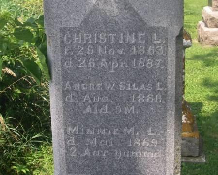 LOMMEN, CHRISTINE - Winneshiek County, Iowa | CHRISTINE LOMMEN