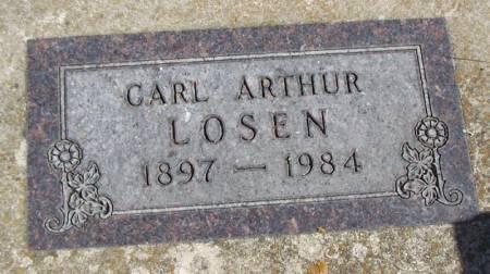 LOSEN, CARL ARTHUR - Winneshiek County, Iowa   CARL ARTHUR LOSEN
