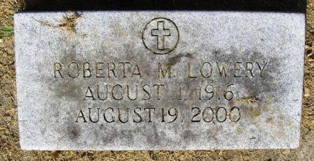 LOWERY, ROBERTA M. - Winneshiek County, Iowa   ROBERTA M. LOWERY