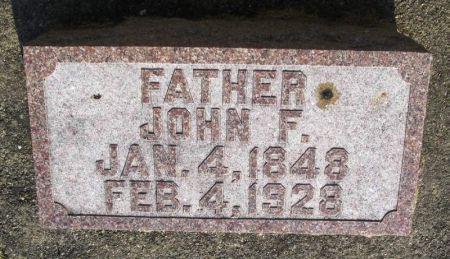 LUBKE, JOHN F. - Winneshiek County, Iowa | JOHN F. LUBKE