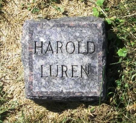 LUREN, HAROLD - Winneshiek County, Iowa | HAROLD LUREN