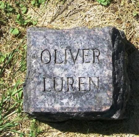 LUREN, OLIVER - Winneshiek County, Iowa   OLIVER LUREN