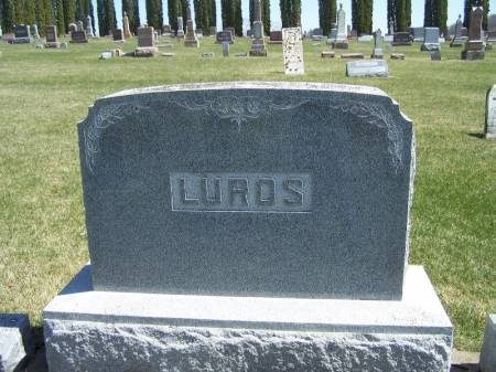 LUROS, AUSTIN FAMILY STONE - Winneshiek County, Iowa   AUSTIN FAMILY STONE LUROS