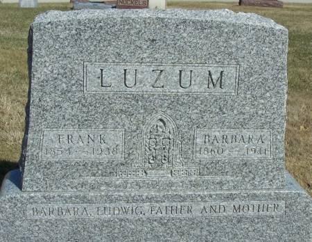 LUZUM, BARBARA - Winneshiek County, Iowa | BARBARA LUZUM