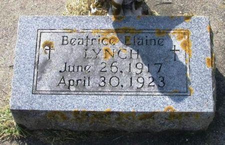 LYNCH, BEATRICE ELAINE - Winneshiek County, Iowa | BEATRICE ELAINE LYNCH