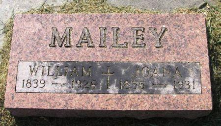 MAILEY, JOANA - Winneshiek County, Iowa   JOANA MAILEY