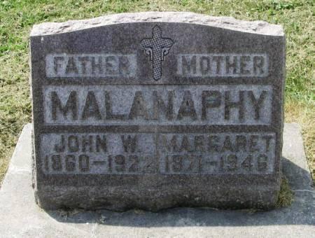 MALANAPHY, JOHN W. - Winneshiek County, Iowa   JOHN W. MALANAPHY