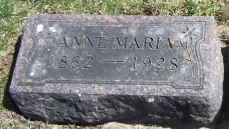 MALAND, ANNE MARIA - Winneshiek County, Iowa   ANNE MARIA MALAND