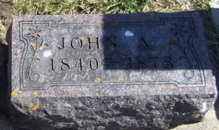 MALAND, JOHN A - Winneshiek County, Iowa | JOHN A MALAND