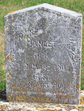 MANLET, FRANZ - Winneshiek County, Iowa | FRANZ MANLET