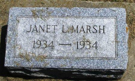 MARSH, JANET L. - Winneshiek County, Iowa | JANET L. MARSH