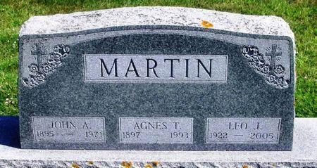 MARTIN, LEO J. - Winneshiek County, Iowa | LEO J. MARTIN