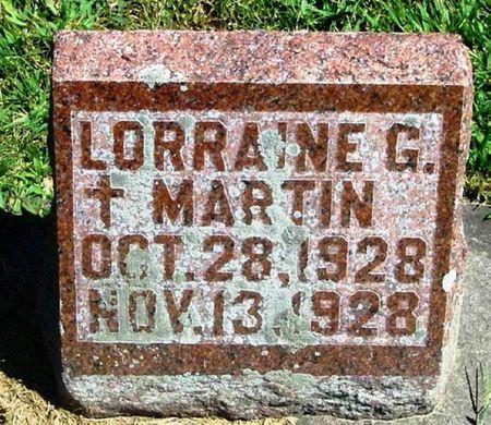 MARTIN, LORRAINE G. - Winneshiek County, Iowa | LORRAINE G. MARTIN