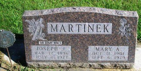 MARTINEK, MARY A. - Winneshiek County, Iowa   MARY A. MARTINEK