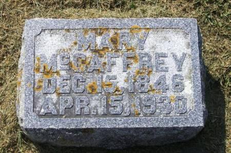 MCCAFFREY, MARY - Winneshiek County, Iowa   MARY MCCAFFREY