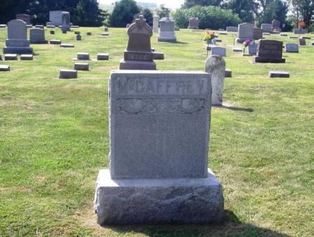 MCCAFFREY, PETER FAMILY STONE - Winneshiek County, Iowa   PETER FAMILY STONE MCCAFFREY
