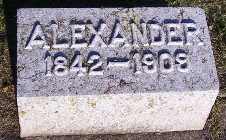 MCCLASKEY, ALEXANDER - Winneshiek County, Iowa | ALEXANDER MCCLASKEY