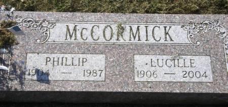 MCCORMICK, PHILLIP - Winneshiek County, Iowa | PHILLIP MCCORMICK