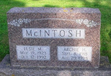 MCINTOSH, ARCHIE H. - Winneshiek County, Iowa | ARCHIE H. MCINTOSH