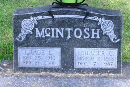 MCINTOSH, CHESTER C. - Winneshiek County, Iowa | CHESTER C. MCINTOSH