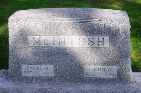 MCINTOSH, SARAH A. - Winneshiek County, Iowa | SARAH A. MCINTOSH