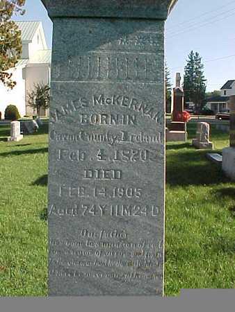 MCKERNAN, JAMES - Winneshiek County, Iowa   JAMES MCKERNAN