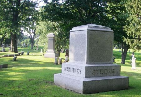 STRONG-MCKINNEY, JACOB C. FAMILY STONE - Winneshiek County, Iowa | JACOB C. FAMILY STONE STRONG-MCKINNEY