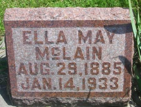 MCLAIN, ELLA MAY - Winneshiek County, Iowa | ELLA MAY MCLAIN