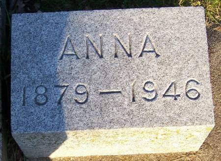 MCNAMARA, ANNA - Winneshiek County, Iowa | ANNA MCNAMARA