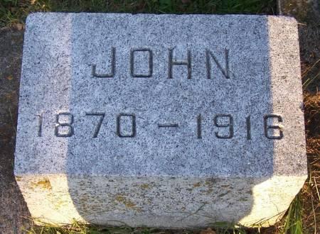 MCNAMARA, JOHN - Winneshiek County, Iowa | JOHN MCNAMARA