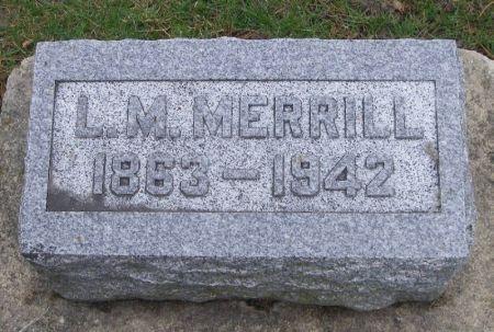 MERRILL, L. M. - Winneshiek County, Iowa | L. M. MERRILL