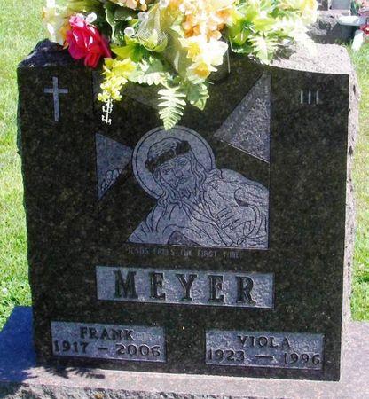 MEYER, FRANK HENRY - Winneshiek County, Iowa | FRANK HENRY MEYER