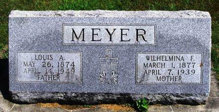MEYER, WILHELMINA F. - Winneshiek County, Iowa   WILHELMINA F. MEYER