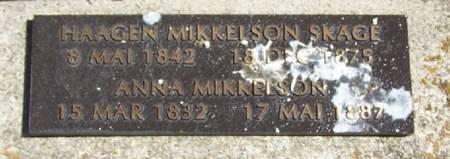 MIKKELSON, ANNA - Winneshiek County, Iowa   ANNA MIKKELSON