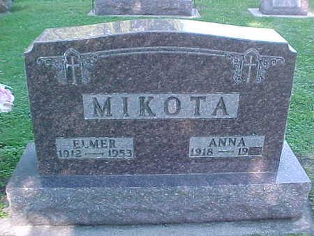 MIKOTA, ANNA - Winneshiek County, Iowa | ANNA MIKOTA