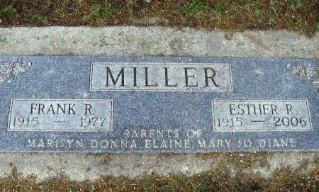 MILLER, FRANK R. - Winneshiek County, Iowa   FRANK R. MILLER