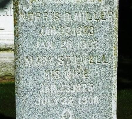 STILLWELL MILLER, MARY - Winneshiek County, Iowa | MARY STILLWELL MILLER