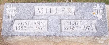 MILLER, ROSE ANN - Winneshiek County, Iowa | ROSE ANN MILLER