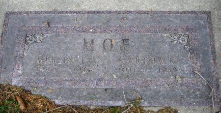 MOE, MARTHA C. - Winneshiek County, Iowa   MARTHA C. MOE