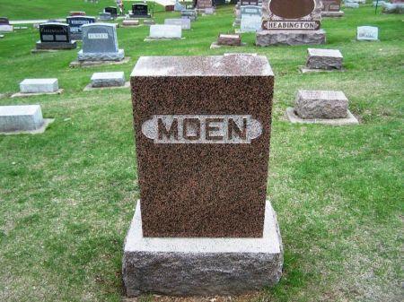 MOEN, ANDREW BERNARD FAMILY STONE - Winneshiek County, Iowa | ANDREW BERNARD FAMILY STONE MOEN