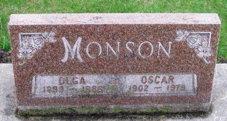 MONSON, OSCAR - Winneshiek County, Iowa | OSCAR MONSON