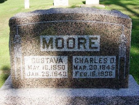 MOORE, GUSTAVA - Winneshiek County, Iowa | GUSTAVA MOORE