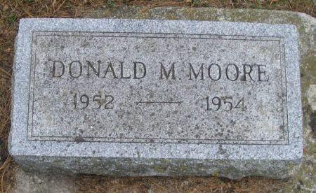 MOORE, DONALD M. - Winneshiek County, Iowa   DONALD M. MOORE