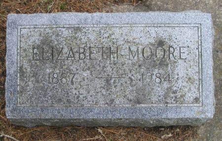 MOORE, ELIZABETH - Winneshiek County, Iowa   ELIZABETH MOORE