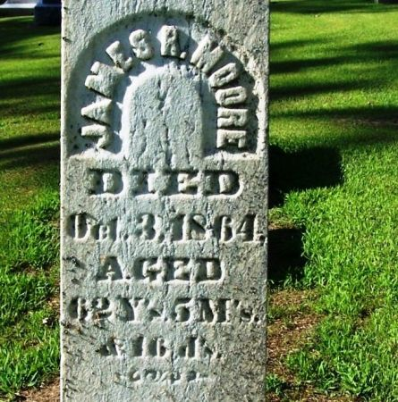 MOORE, JAMES R. - Winneshiek County, Iowa | JAMES R. MOORE