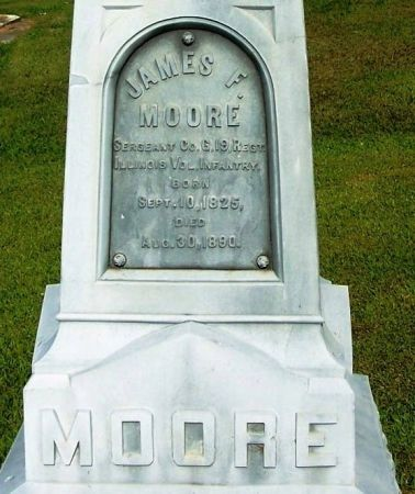 MOORE, JAMES F. - Winneshiek County, Iowa | JAMES F. MOORE